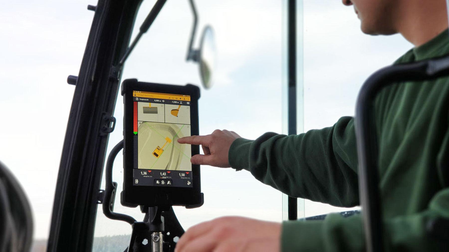 Vortkamp 3D GPS Steuerung